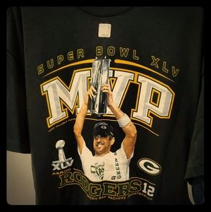 Aaron Rodgers MVP T-Shirt Size XL